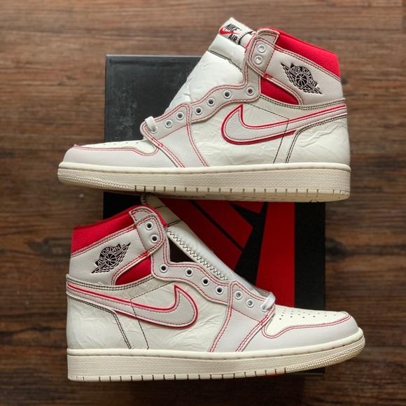 pretty nice 63a38 22ee2 Nike Air Jordan 1 Retro High OG Sail Size  8.5